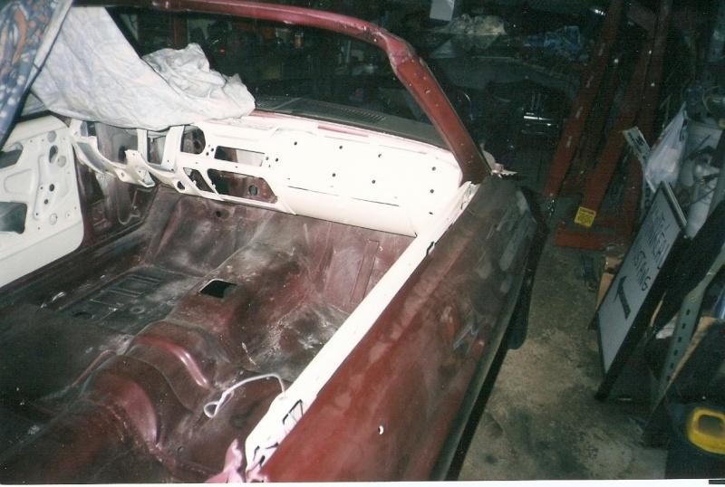 La Mustang 1967 du membre Renald Remillard 2003-013