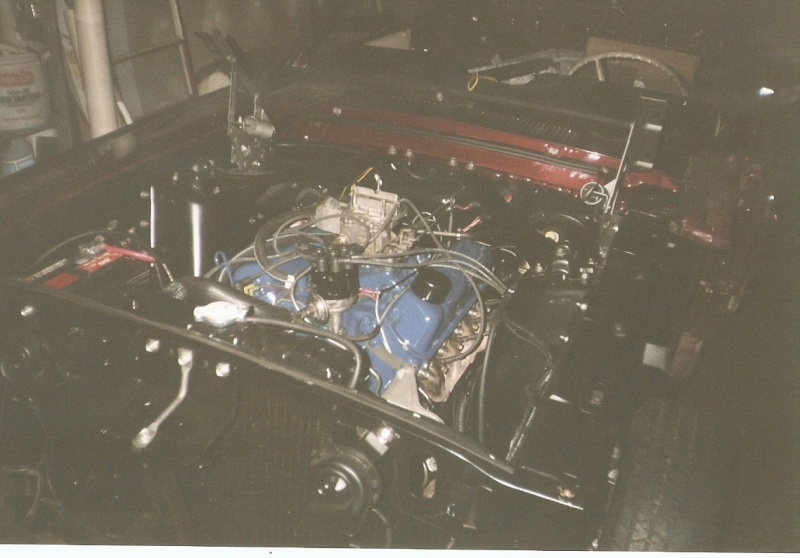La Mustang 1967 du membre Renald Remillard 2003-020