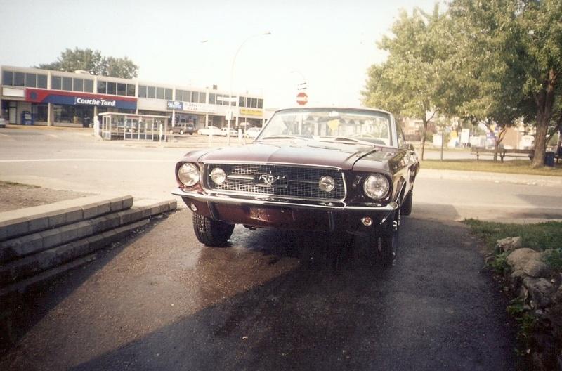 La Mustang 1967 du membre Renald Remillard 2003-023