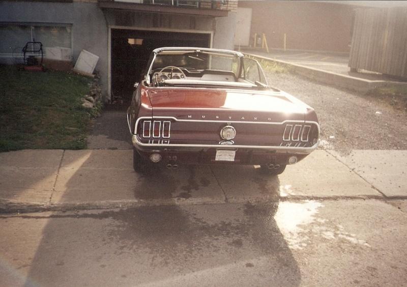 La Mustang 1967 du membre Renald Remillard 2003-024
