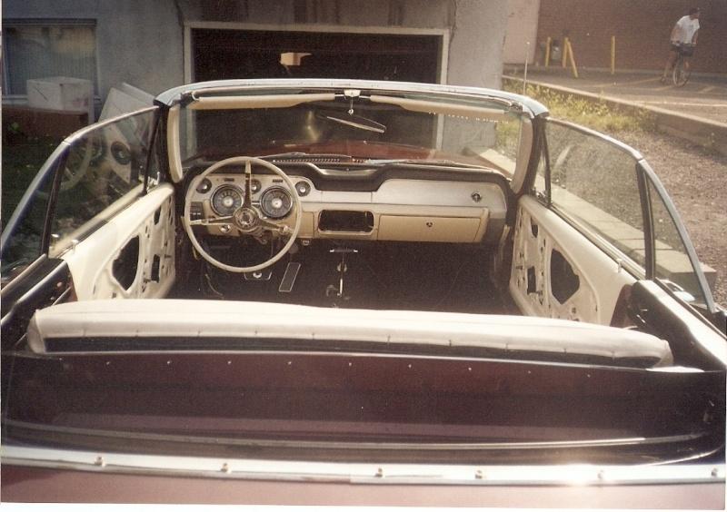 La Mustang 1967 du membre Renald Remillard 2003-026