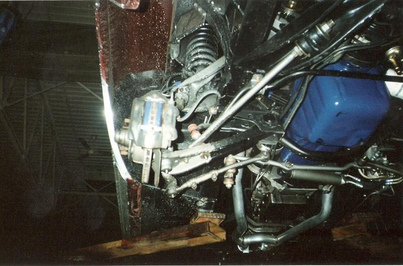 La Mustang 1967 du membre Renald Remillard 2003-033