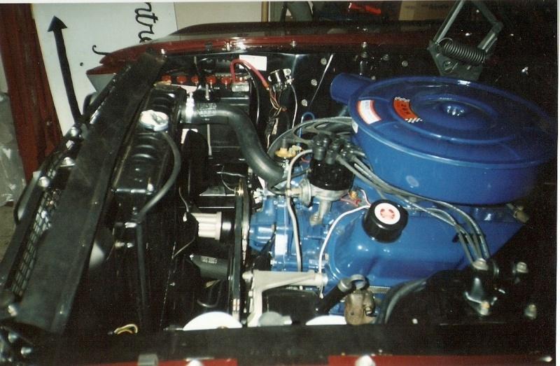 La Mustang 1967 du membre Renald Remillard 2003-036