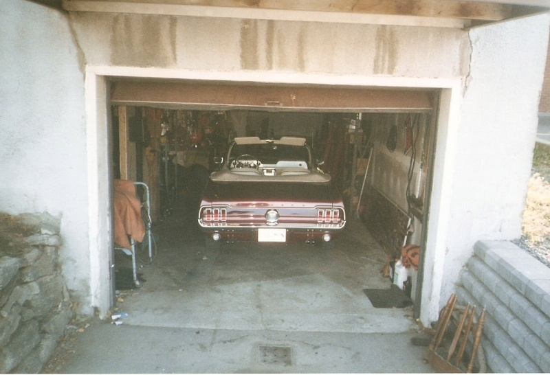 La Mustang 1967 du membre Renald Remillard 2003-038