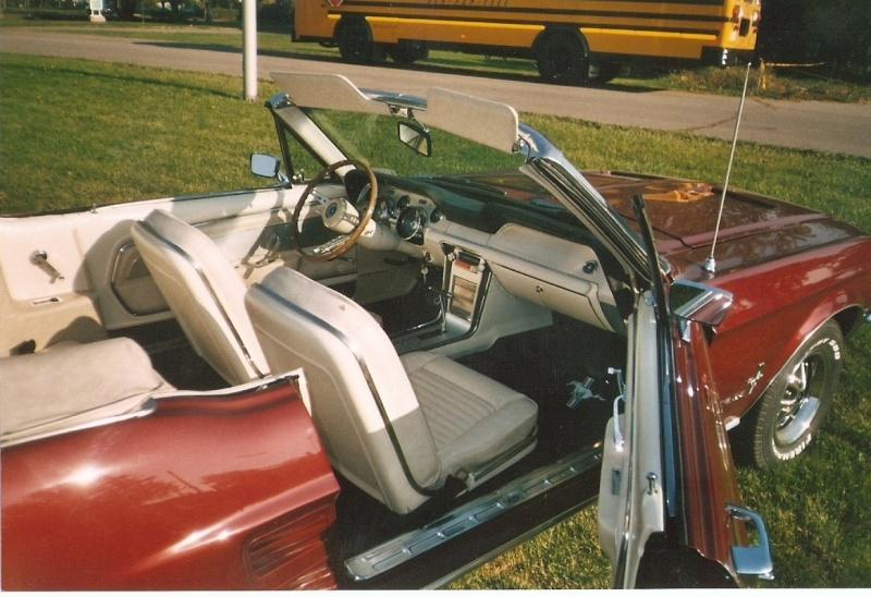La Mustang 1967 du membre Renald Remillard 2003-112
