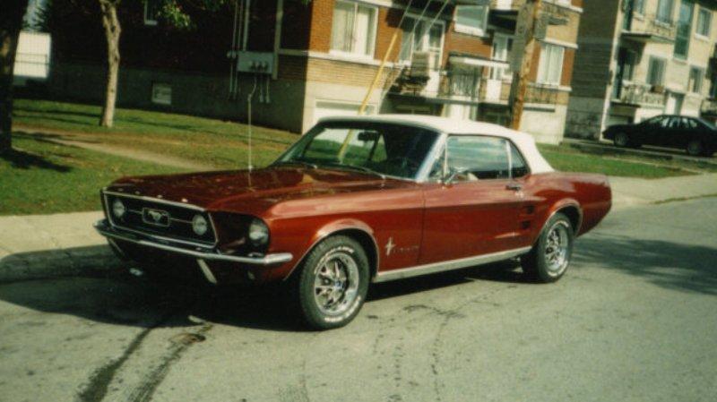 La Mustang 1967 du membre Renald Remillard Jacque10