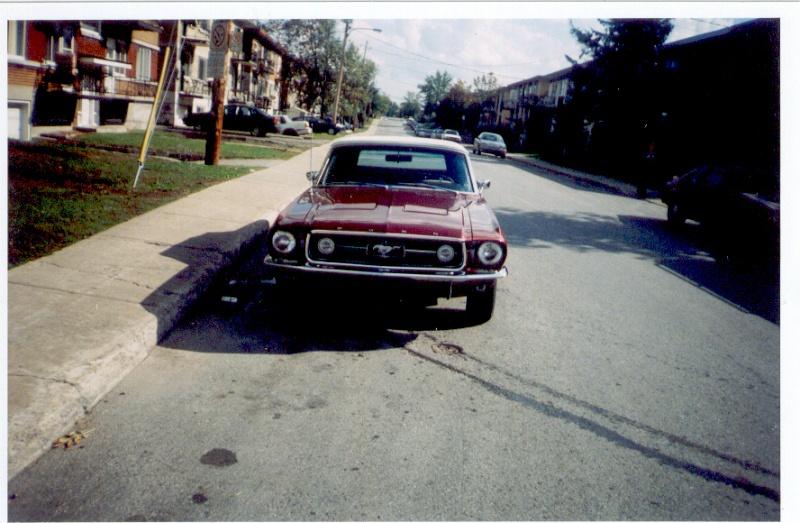 La Mustang 1967 du membre Renald Remillard Jacque12