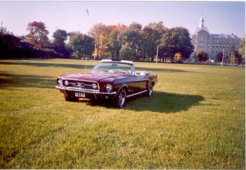 La Mustang 1967 du membre Renald Remillard Jacque14