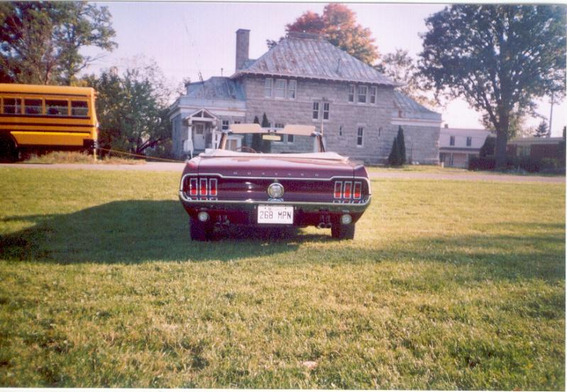 La Mustang 1967 du membre Renald Remillard Jacque15