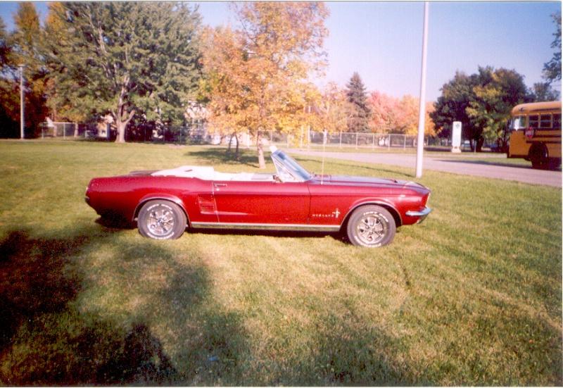 La Mustang 1967 du membre Renald Remillard Jacque17