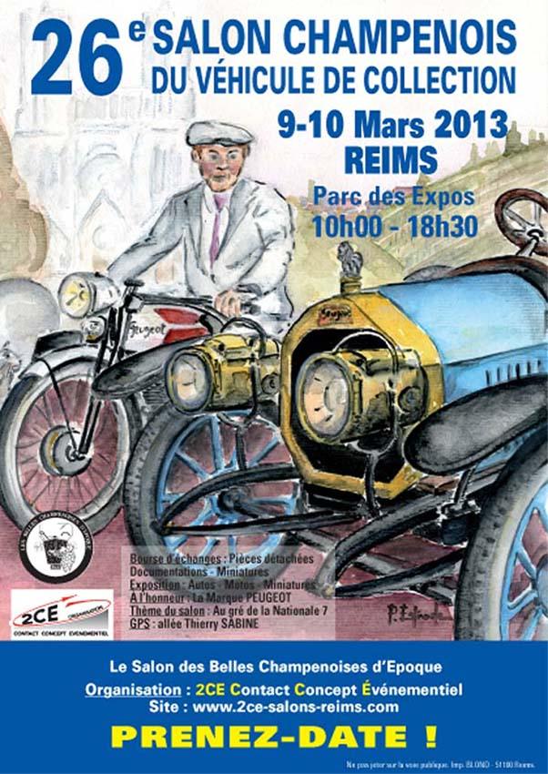 26e Salon Champenois du Vehicule de Collection (51) Calend10