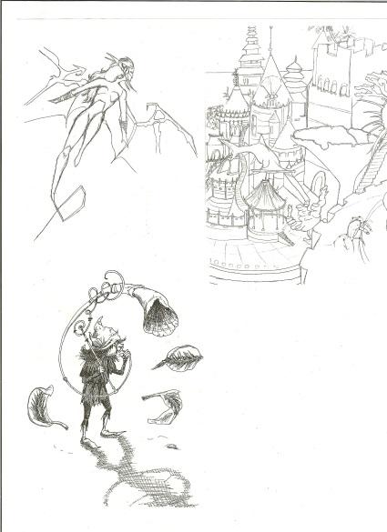 Dessins et illustrations Citara10