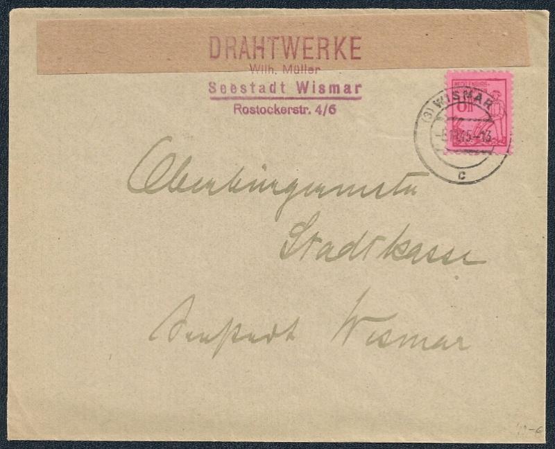 Mecklenburg - Vorpommern (OPD Schwerin) -Sowjetische Besatzungszone - Seite 6 1945-113
