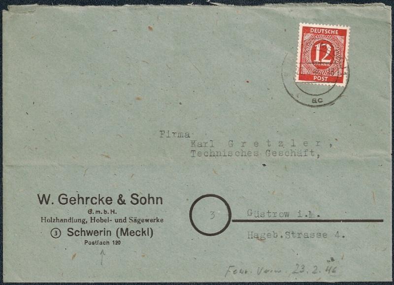 Mecklenburg - Vorpommern (OPD Schwerin) -Sowjetische Besatzungszone - Seite 6 1946-015