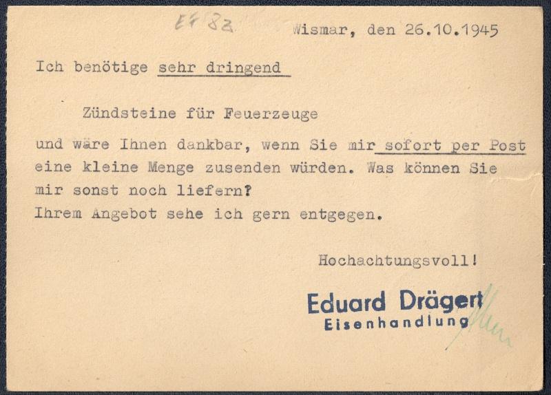 OPD Schwerin 1945 - 1952 (Teil 2) Scanne36