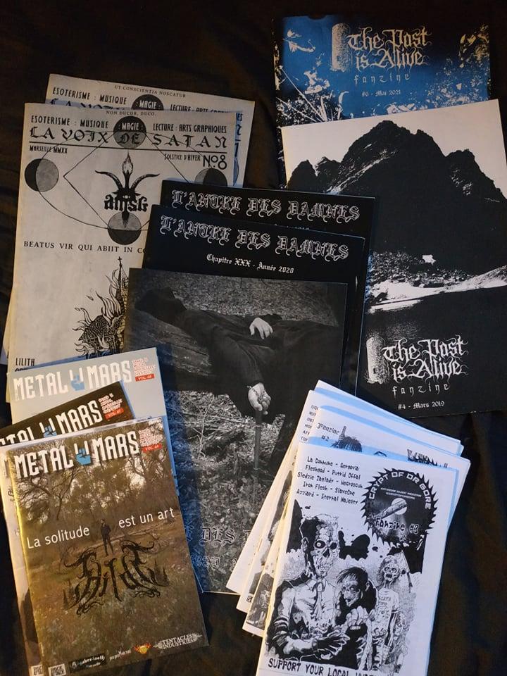 """Fanzines - """"Acid Vicious"""" et """"L'Antre des Damnés""""  21978110"""