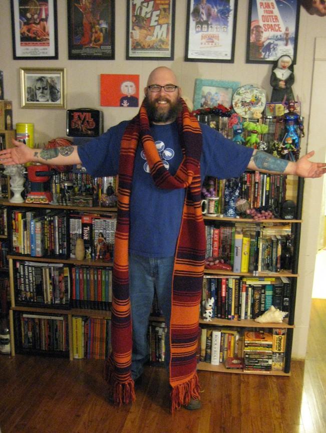 My new season 18 scarf! Scarfy11