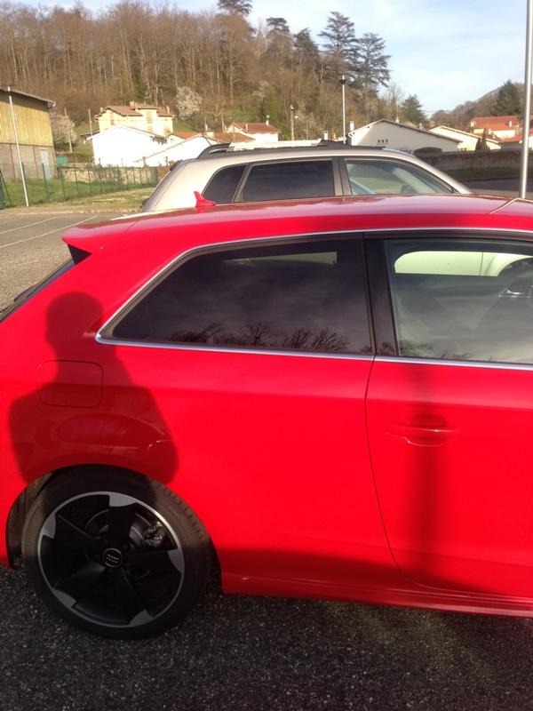 Audi A3 S Line TDI 150 3 portes rouge Misano 13032118