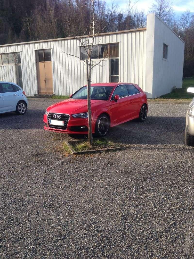 Audi A3 S Line TDI 150 3 portes rouge Misano 13032119