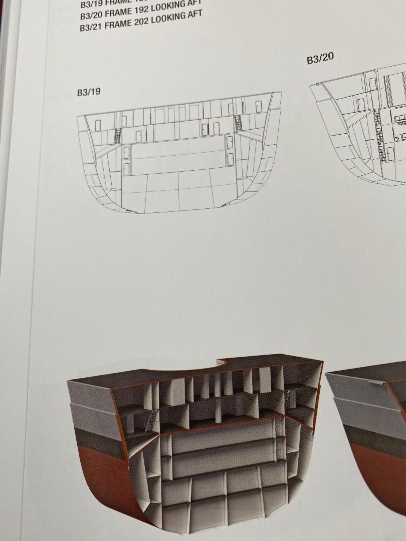 Takom 1:72 Bismarck-Diorama Geschützturm Bruno mit extra Rumpfsegment Buch_011