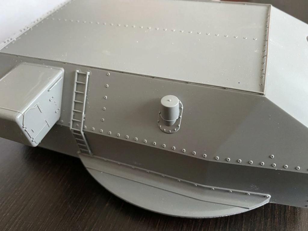 Takom 1:72 Bismarck-Diorama Geschützturm Bruno mit extra Rumpfsegment Takom_15