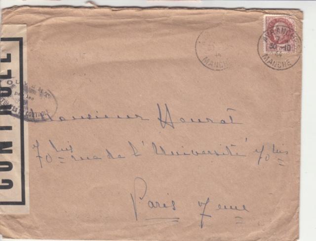 1944 une lettre contrôlée par la censure _2001910