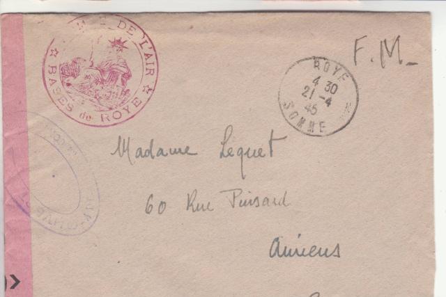 1944 une lettre contrôlée par la censure _7001010