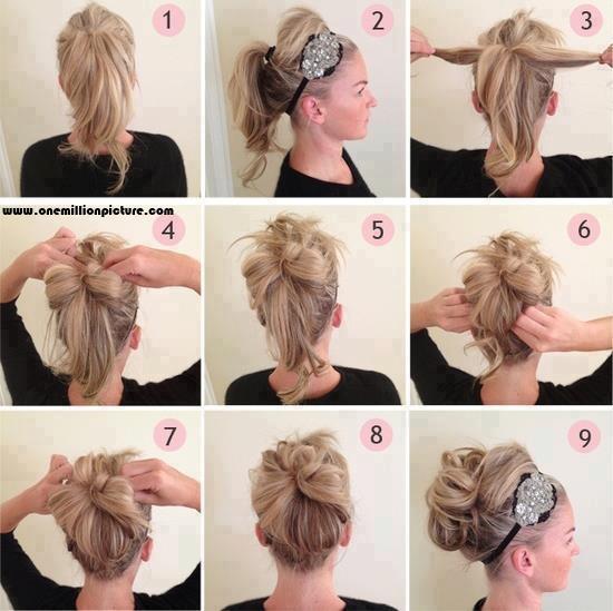 Hair How To - The Simple Upsweep Hair10