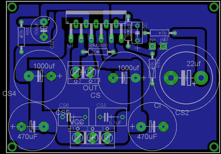 LM3875 LM3886 , The new Power Amplifier ByManu; L'Overture Brd11