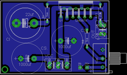 LM3875 LM3886 , The new Power Amplifier ByManu; L'Overture Lm387510