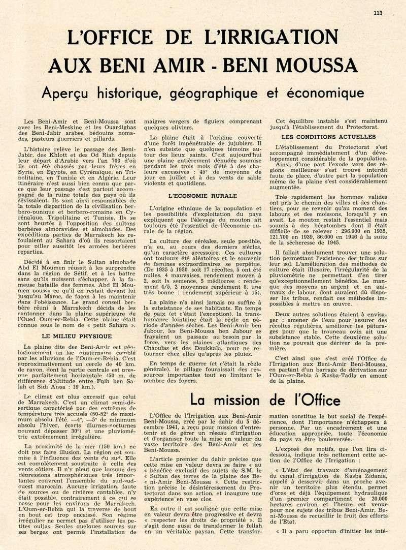 L'Hydraulique et l'Electricité au MAROC. - Page 5 29-f_110