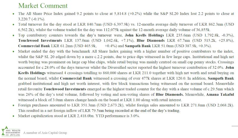 Trade Summary Market - 03/10/2013 Asia11