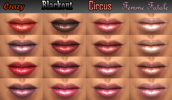 'Original Doll' - 16 new lipglosses by Cleos Mts_cl11