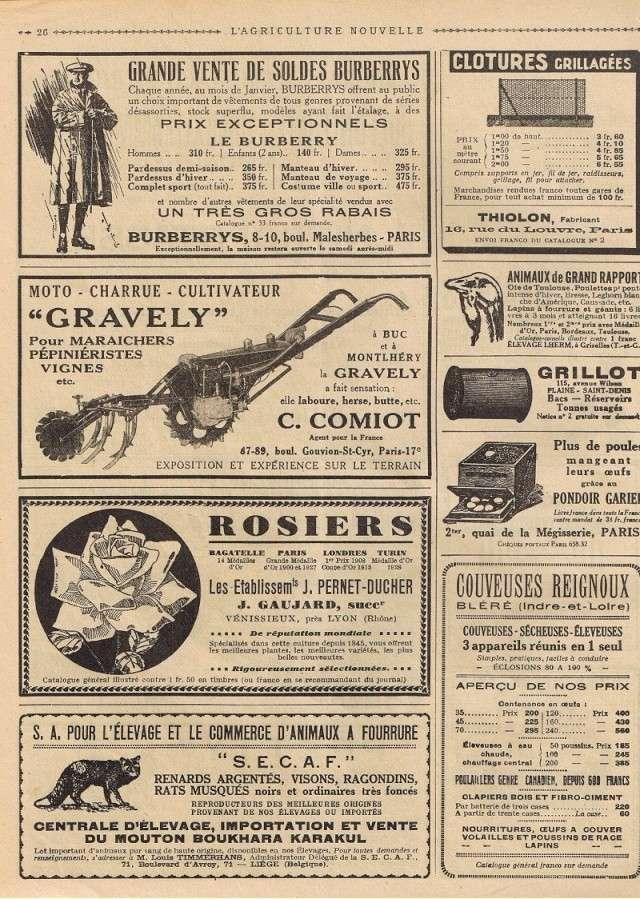 gravely - Le Motoc du photographe! Pub19310