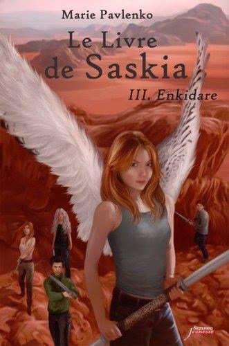 PAVLENKO Marie - Le livre de Saskia - Tome 3: Enkidare  12344910