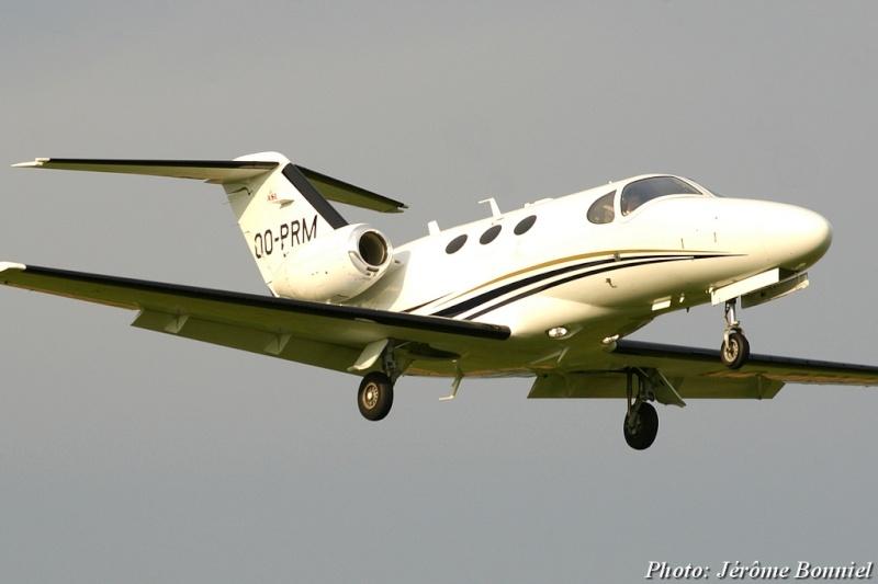 26 Septembre 2013 Un Cessna Citation Mustang immatriculé OO-PRM Imgp0012