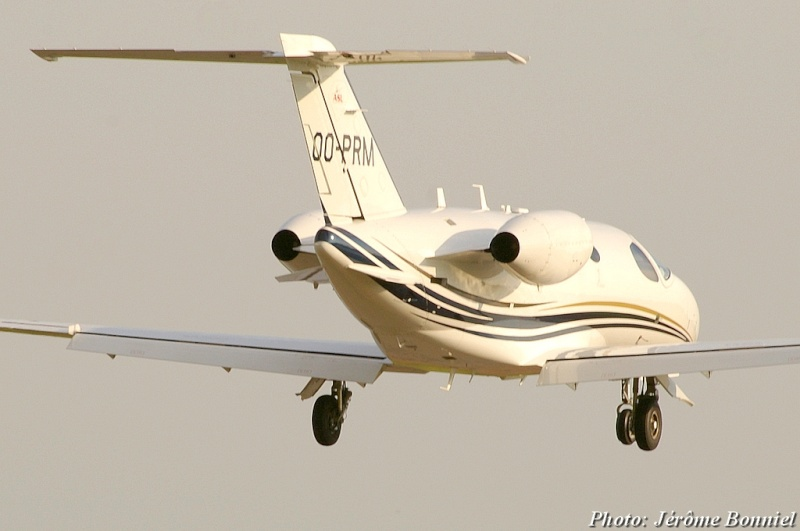 26 Septembre 2013 Un Cessna Citation Mustang immatriculé OO-PRM Imgp0014