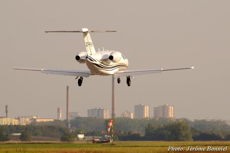 26 Septembre 2013 Un Cessna Citation Mustang immatriculé OO-PRM Imgp0015
