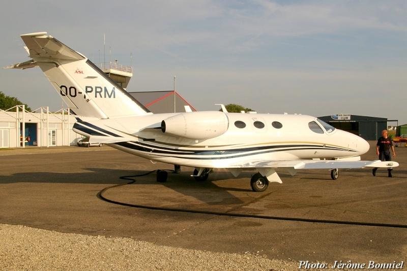 26 Septembre 2013 Un Cessna Citation Mustang immatriculé OO-PRM Imgp0017