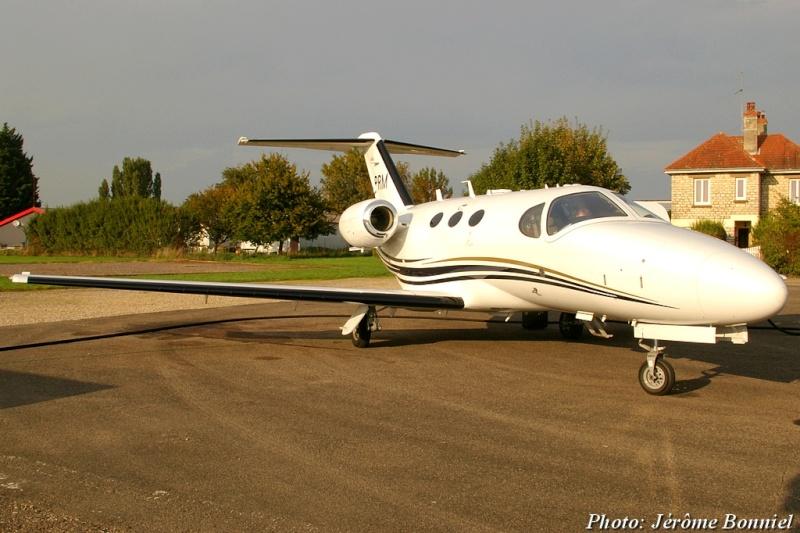 26 Septembre 2013 Un Cessna Citation Mustang immatriculé OO-PRM Imgp0020