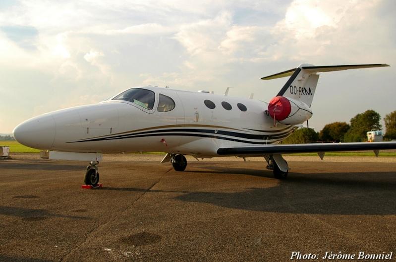 26 Septembre 2013 Un Cessna Citation Mustang immatriculé OO-PRM Imgp0036