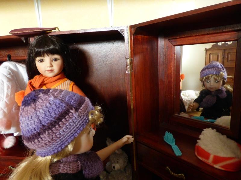 Olga fait sa coquette P1010413