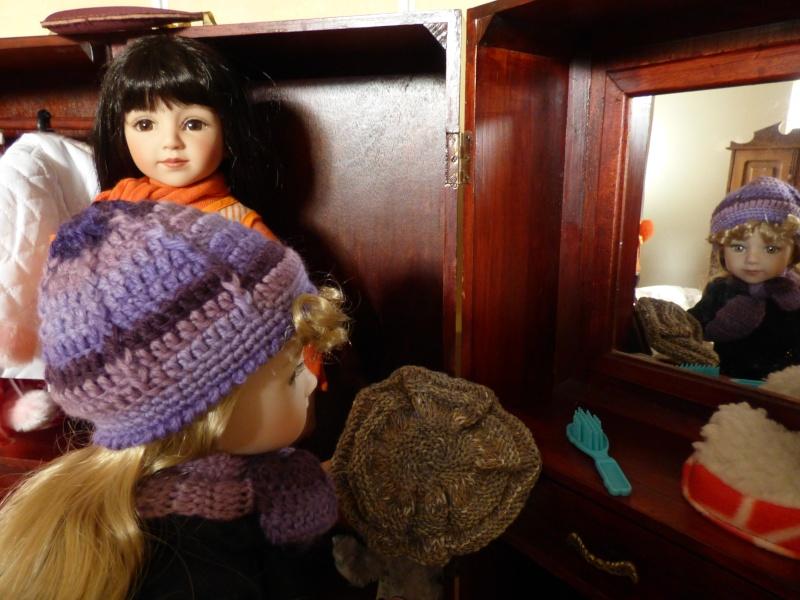 Olga fait sa coquette P1010414