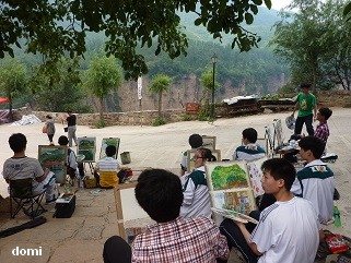La Chine sac au dos (31) Zhengzhou (郑州) – Guoliangcun (郭亮村) - Wanxian Shan(万仙山)- Henan(河南)- Sur la route des anciennes capitales  11_les10