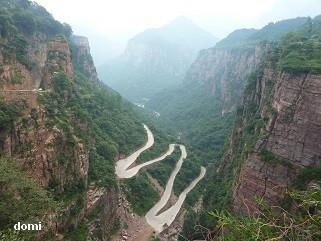 La Chine sac au dos (31) Zhengzhou (郑州) – Guoliangcun (郭亮村) - Wanxian Shan(万仙山)- Henan(河南)- Sur la route des anciennes capitales  9-l_ec10