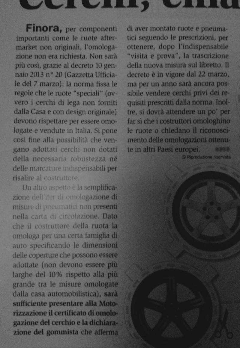 Nuovo decreto su pneumatici e cerchi - Pagina 5 Qq10