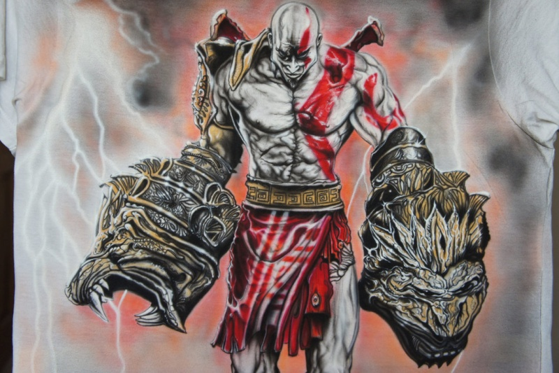 L'Apogée, ou la dernière bataille d'un guerrier Kratos11