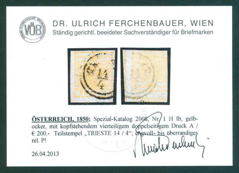 Die erste Österreichische Ausgabe 1850 - Seite 5 1850_112