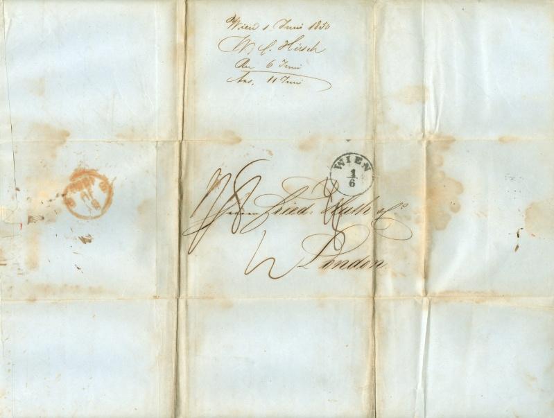 Nachtrag - Vorphilatelie Österreich  -   Briefe aus der Vormarkenzeit Vorphi10