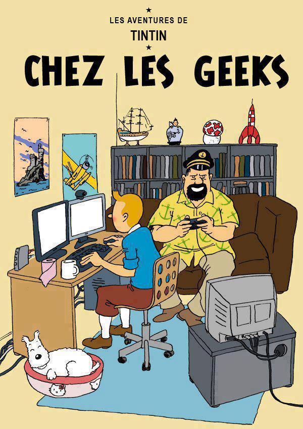Détournements de BD Tintin 48755010